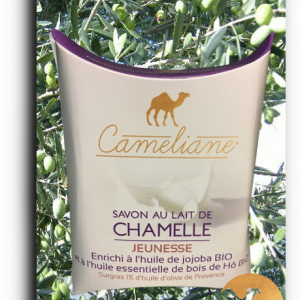 Vegetable camel milk soap YOUTH - 100g