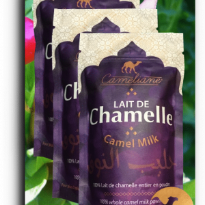 Camel milk powder - 1OOg. 3 doypacks