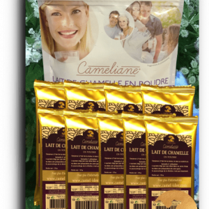 FOOD SUPPLEMENT, camel milk in 10 nomadic sachets = 100 g